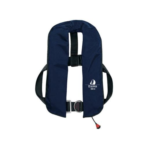 12skipper Automatik-Rettungsweste 165N ISO mit Harness, marineblau