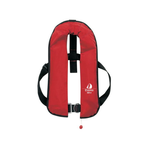 12skipper Automatik-Rettungsweste 165N ISO mit Harness, rot