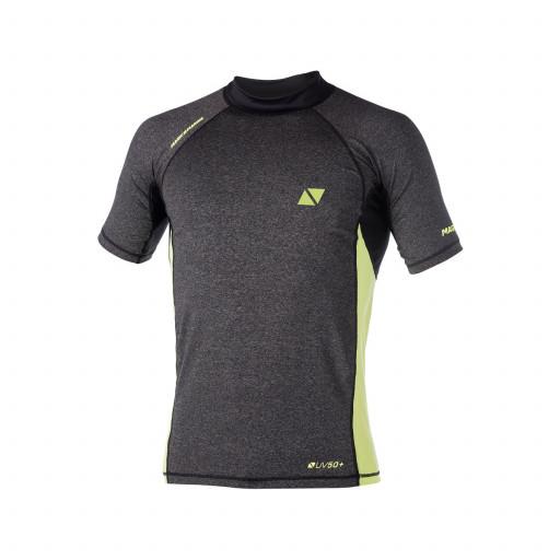 SALE: Magic Marine Energy Rashvest T-Shirt Herren grau-gelb