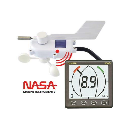 NASA Marine Clipper Windmessanlage, kabellos