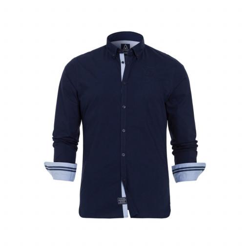 SALE: Gaastra Balling Hemd langarm Herren marineblau