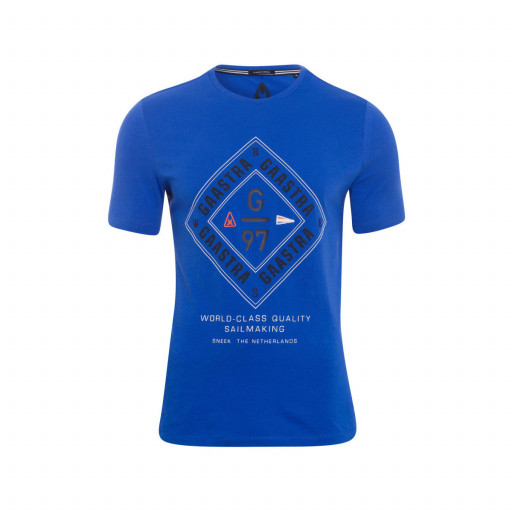 SALE: Gaastra Rough Sea Crew T-Shirt Herren blau