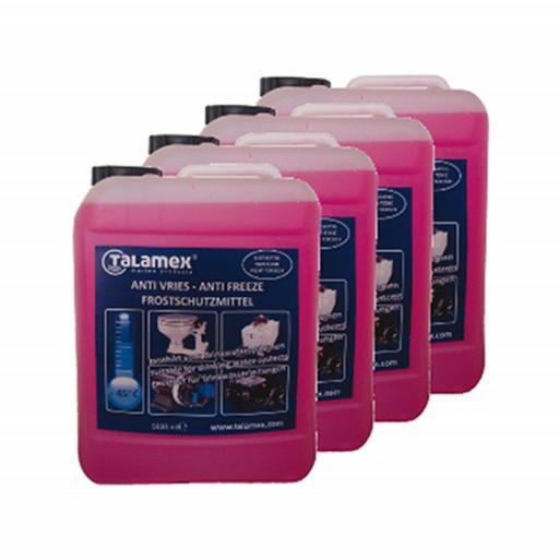 4er-Set Talamex Frostschutzmittel für Boote - 4 x 5L