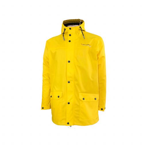 Dry Fashion Helgoland Regenparka Herren gelb