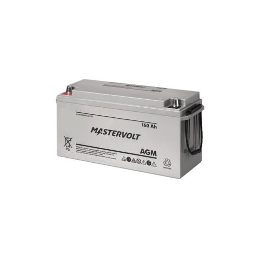 Mastervolt AGM Marine Bootsbatterie - 160 Ah