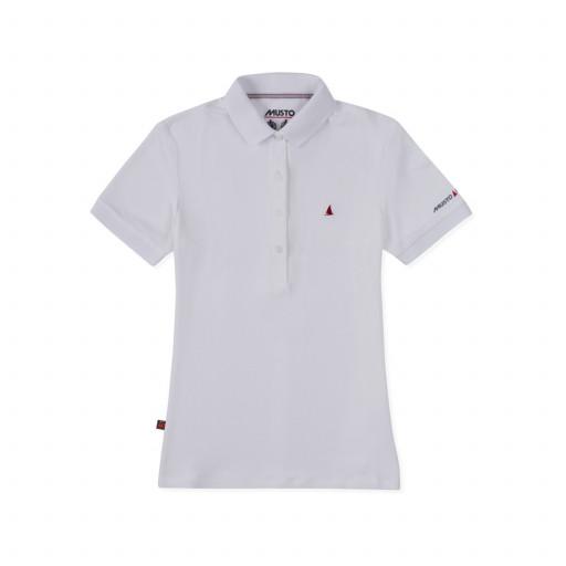 Musto Evolution Pro Lite Plain Poloshirt Damen weiß