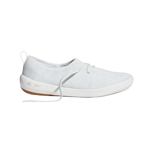 Adidas Boat Lace Sleek Segelschuh Damen weiß