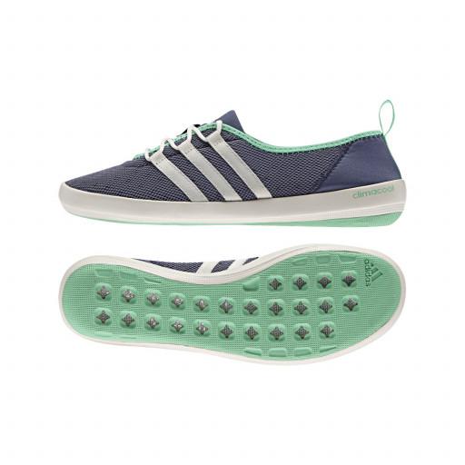 SALE: Adidas Boat Sleek Bootsschuh Damen lila/grün