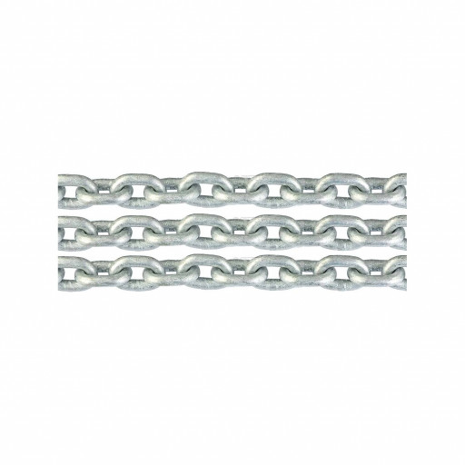 Ankerkette verzinkt - Durchmesser 13mm, Länge 10m - passend für Kettennuss nach DIN 766