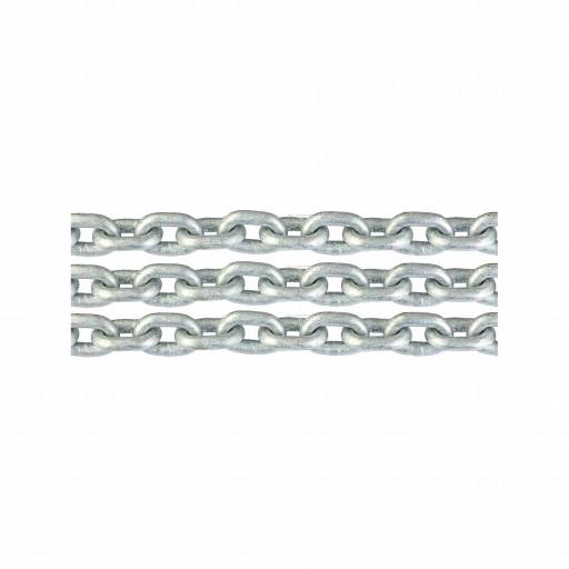 Ankerkette verzinkt - Durchmesser 13mm, Länge 50m - passend für Kettennuss nach DIN 766