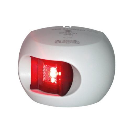 Aqua Signal Serie 34 Backbordlaterne LED BSH - Gehäusefarbe weiß