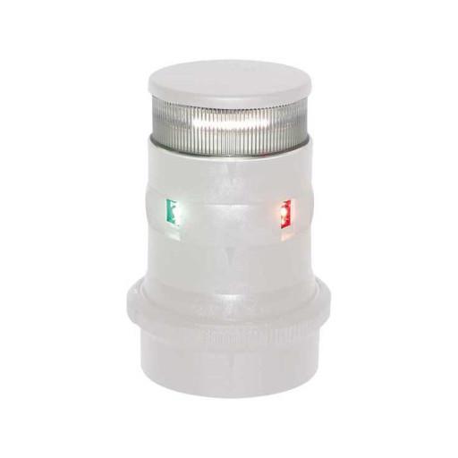 Aqua Signal Serie 34 Dreifarben-Anker-Laterne LED BSH - Gehäusefarbe weiß