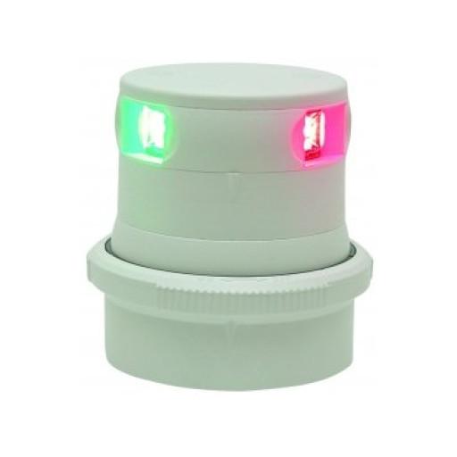 Aqua Signal Serie 34 Dreifarbenlaterne LED BSH - Gehäusefarbe weiß