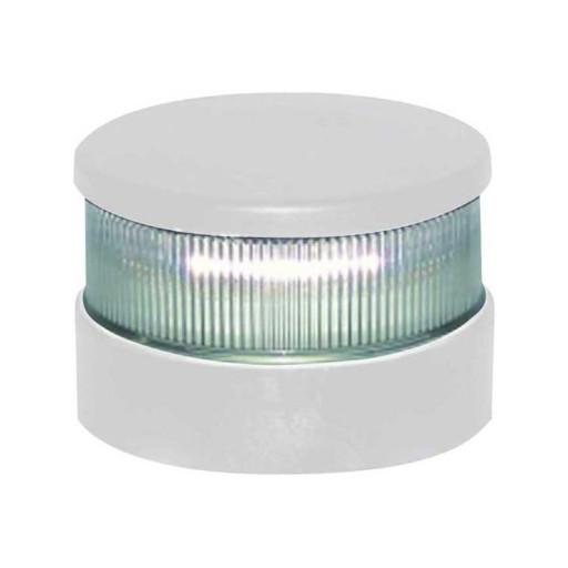 Aqua Signal Serie 34 Signallaterne Rot LED BSH - Gehäusefarbe weiß