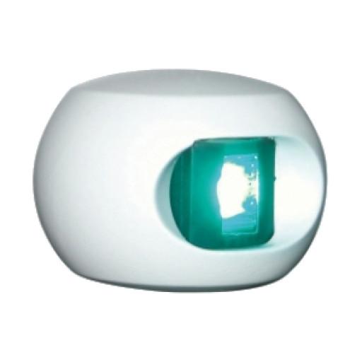 Aqua Signal Serie 34 Steuerbordlaterne LED BSH - Gehäusefarbe weiß