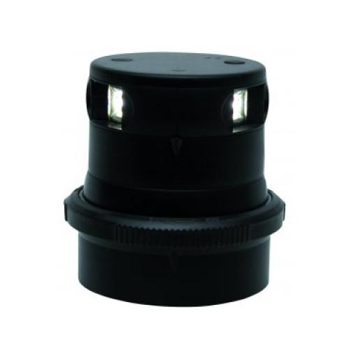 Aqua Signal Serie 34 Topplaterne LED BSH - Gehäusefarbe schwarz