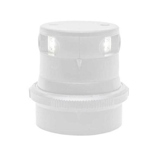 Aqua Signal Serie 34 Topplaterne LED BSH - Gehäusefarbe weiß