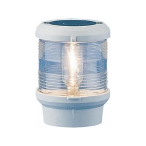 Aqua Signal Serie 40 Ankerlaterne - Gehäusefarbe weiß, 12 Volt