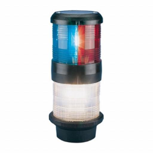 Aqua Signal Serie 40 Dreifarben-Anker-Laterne - 24 Volt