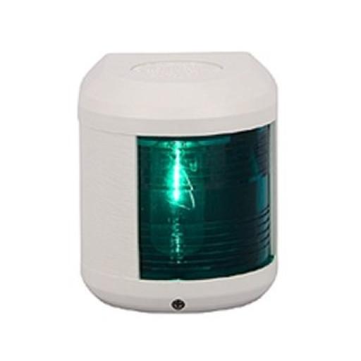 Aqua Signal Serie 41 Steuerbordlaterne - 12 Volt, Gehäusefarbe weiß