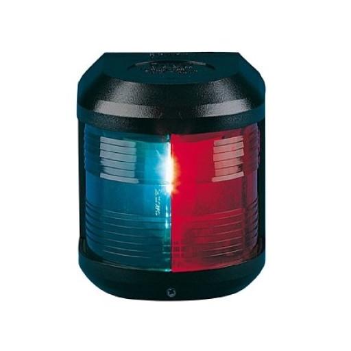 Aqua Signal Serie 41 Zweifarbenlaterne - 12 Volt, Gehäusefarbe schwarz