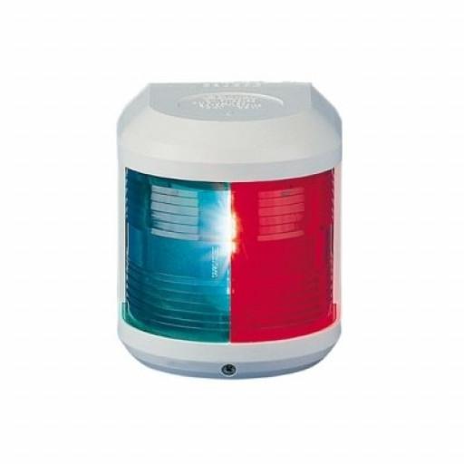 Aqua Signal Serie 41 Zweifarbenlaterne - 12 Volt, Gehäusefarbe weiß