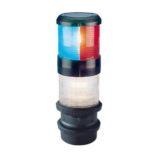 Aqua Signal Serie 40 Dreifarben-Anker-Laterne Quicfits - 24 Volt