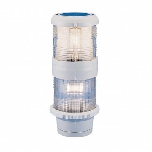 Aqua Signal Serie 40 Topp-Anker-Kombination - Gehäusefarbe weiß, 24 Volt