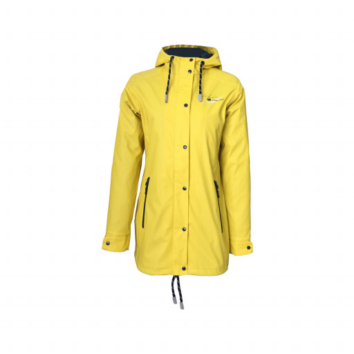 Dry Fashion Hamburg Regenmantel Damen gelb
