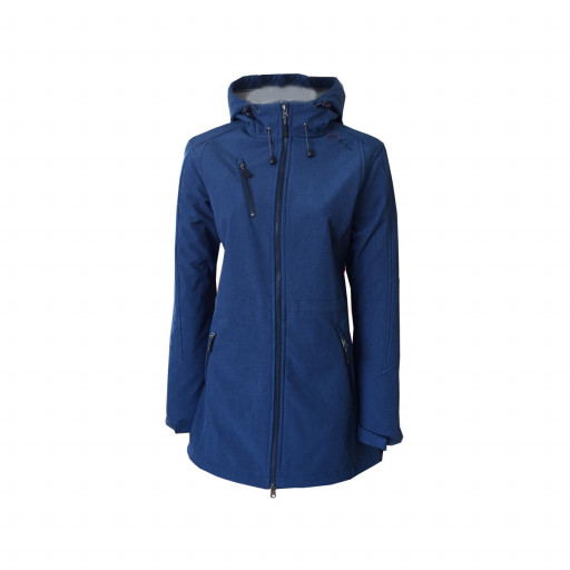SALE: Dry Fashion Kampen Softshell-Mantel Damen marineblau
