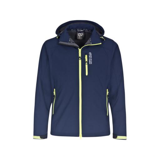 Dry Fashion Amrum Softshell-Jacke Herren marineblau - Modell 2017, Größe S