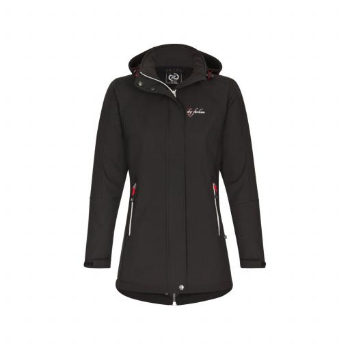 SALE: Dry Fashion Sylt Softshell-Mantel Damen schwarz