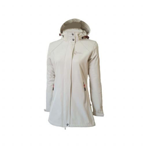 SALE: Dry Fashion Sylt Softshell-Mantel Damen cremeweiß