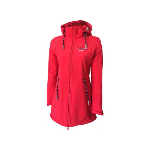 SALE: Dry Fashion Sylt Softshell-Mantel Damen rot