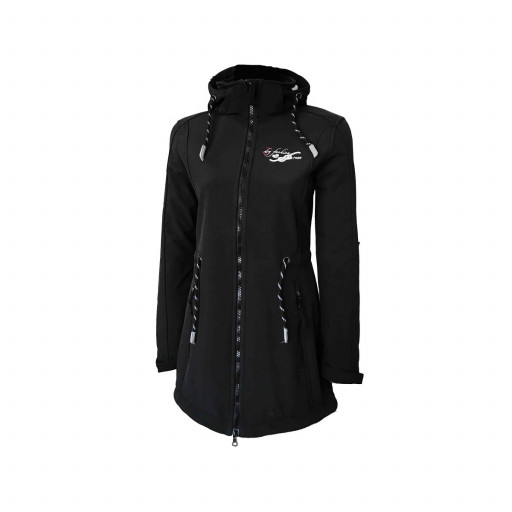 Dry Fashion Sylt Softshell-Mantel Damen schwarz