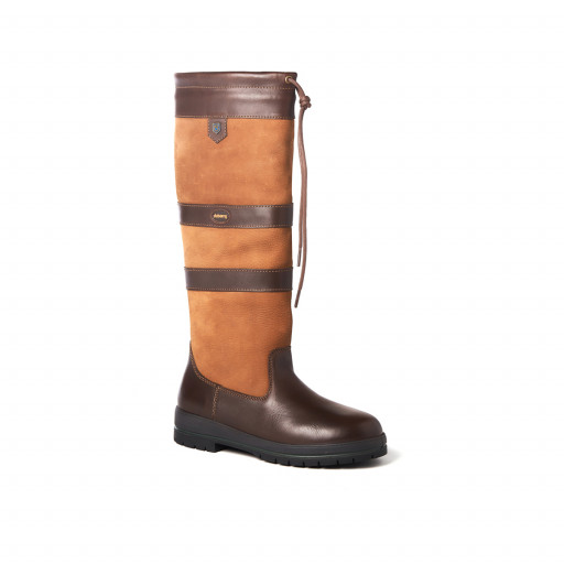 Dubarry Galway Country Boots Lederstiefel Unisex braun
