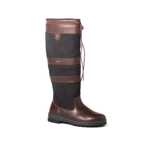 Dubarry Galway Country Boots Lederstiefel GoreTex Unisex schwarz-braun