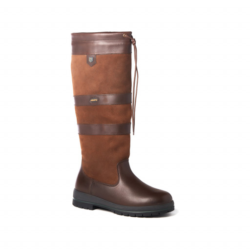 Dubarry Galway Country Boots Lederstiefel Unisex walnut-braun