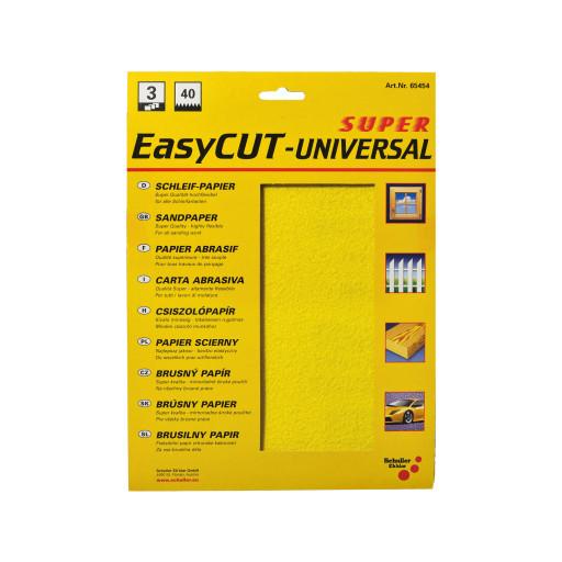 EasyCUT Universal-Schleifpapier 230 x 280mm im 3er Pack