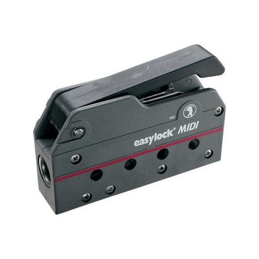 Easy Marine Easylock Midi Fallenstopper - 6-12mm Schot, schwarz, einfach