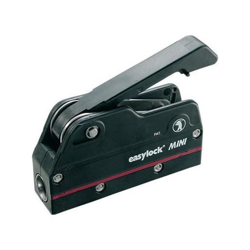 Easy Marine Easylock Mini Fallenstopper - 6-10mm Schot, schwarz, einfach