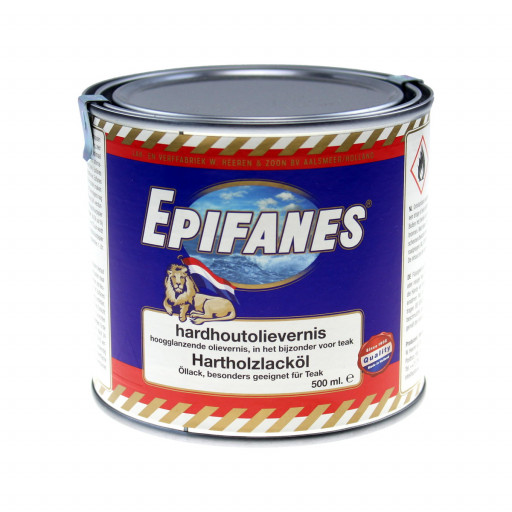 Epifanes Hartholzlacköl 1K mit UV-Filter - 500ml