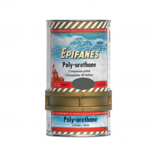 Epifanes Poly-Urethane DD Bootslack - dunkelgrau 821, 750g