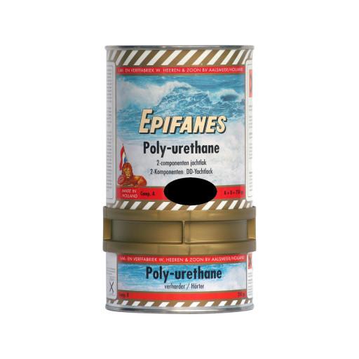 Epifanes Poly-Urethane DD Bootslack - schwarz 801, 750g