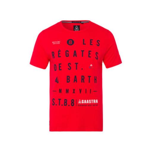 """SALE: Gaastra """"St. Barth"""" Bart T-Shirt Herren rot"""