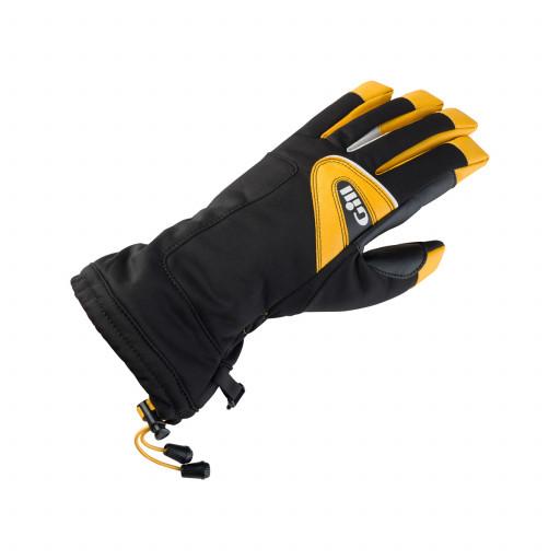 Gill Helmsmans Segelhandschuhe Langfinger schwarz-gelb