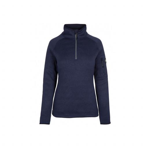 Gill Knit Fleece-Pullover Damen marineblau