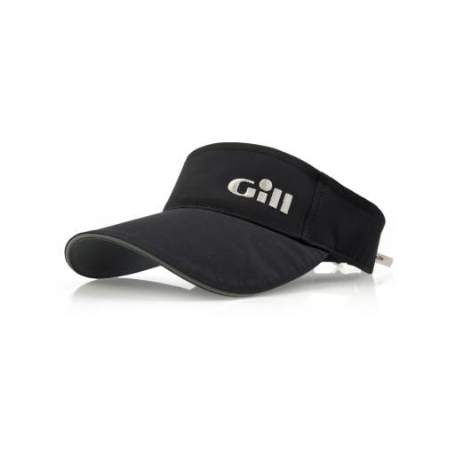 Gill Regatta Visor Schirmkappe schwarz