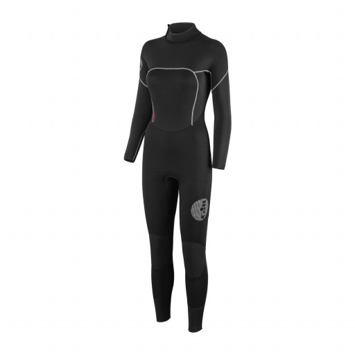 Gill Thermoskin Suit Neoprenanzug 5/3mm Damen schwarz