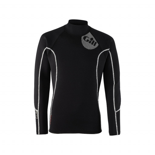 Gill Thermoskin Top Neopren-Longsleeve 2.5mm Herren schwarz